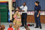 Students learn about 1st responders