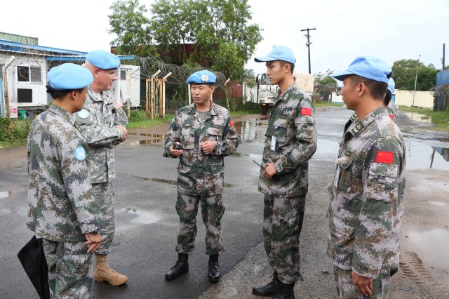 Army Reserve BG completes 15-month tour with U.N. Mission in Liberia