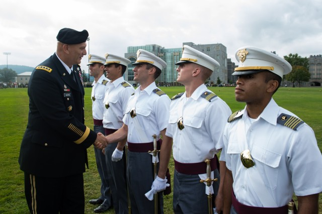 U.S. Army Chief of Staff Visits West Point