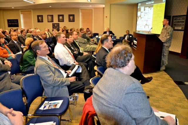 The North Alabama International Trade Association announced that the U.S. Army Security Assistance Command will participate in a Foreign Military Sales Relationships Day for industry and business representatives Dec. 11 from 1:15 p.m. to 5:30 p.m. in Huntsville, Ala.