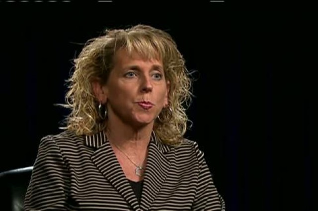 Dr. Christine Altendorf, Director of the Army's SHARP Program, discusses instituting a cultural change in the Army.