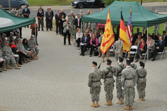 More than 200 members of the USAG Bavaria community attended the designation ceremony, Sept. 24.