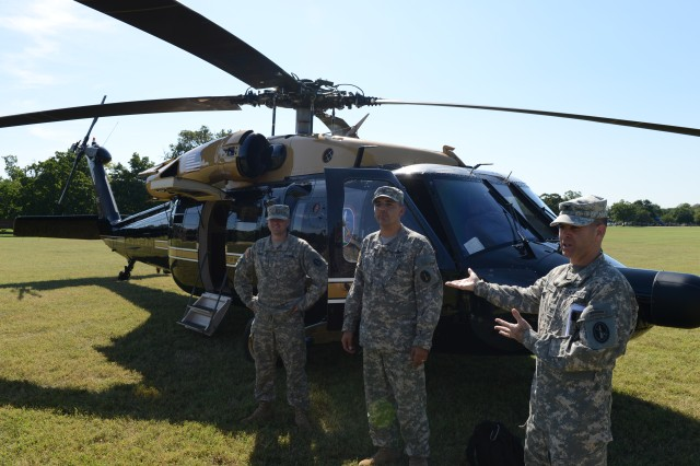 Army Air Operations Group hosts National Defense University interns