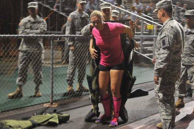 EOD Soldier breaks world record