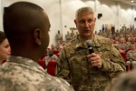 SMA Chandler visits Camp Arifjan, tackles Army's tough challenges, answers soldier questions