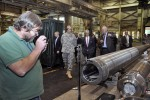 SecArmy visits, touts, challenges Watervliet