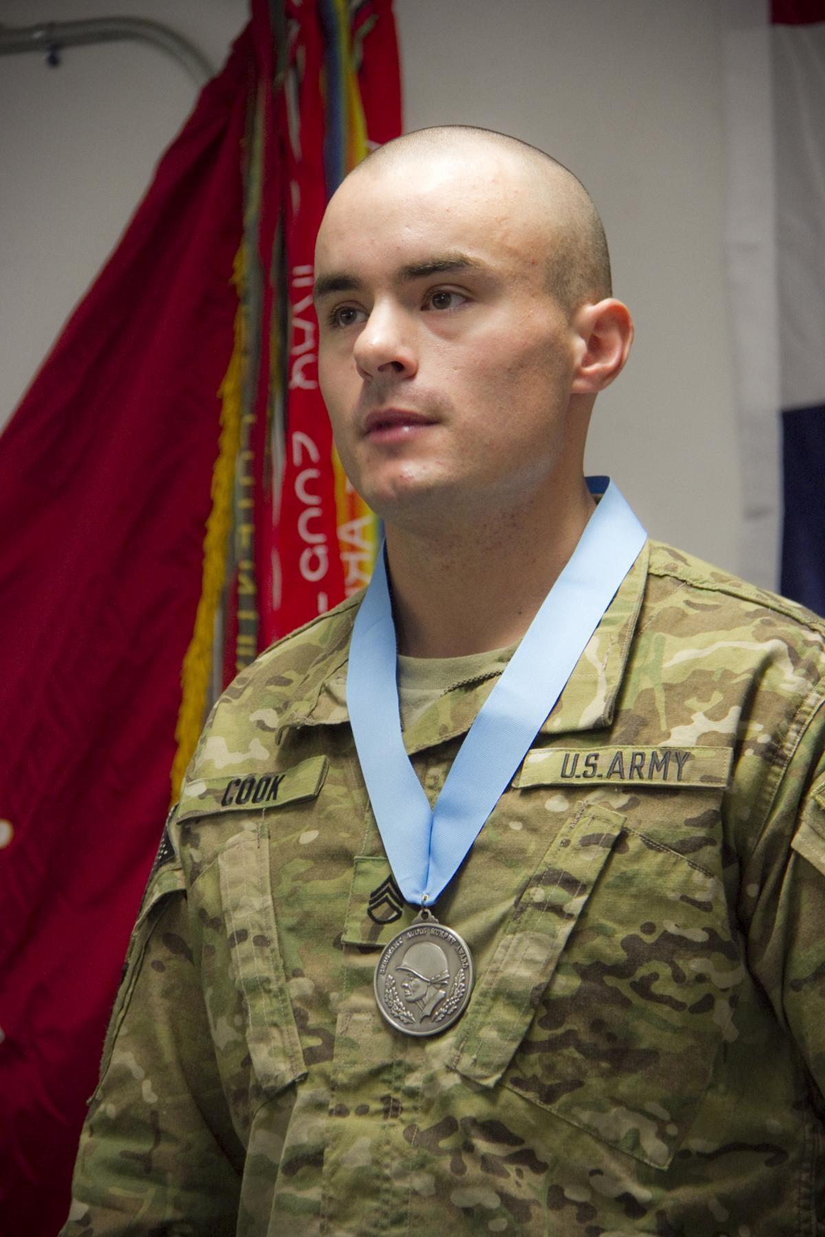 Currahees receive Sergeant Audie Murphy Club induction ...