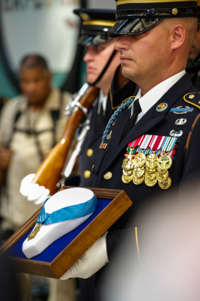 Chief of Staff of the Army, Keynote speaker at Medal Of Honor Enshirnement Ceremony