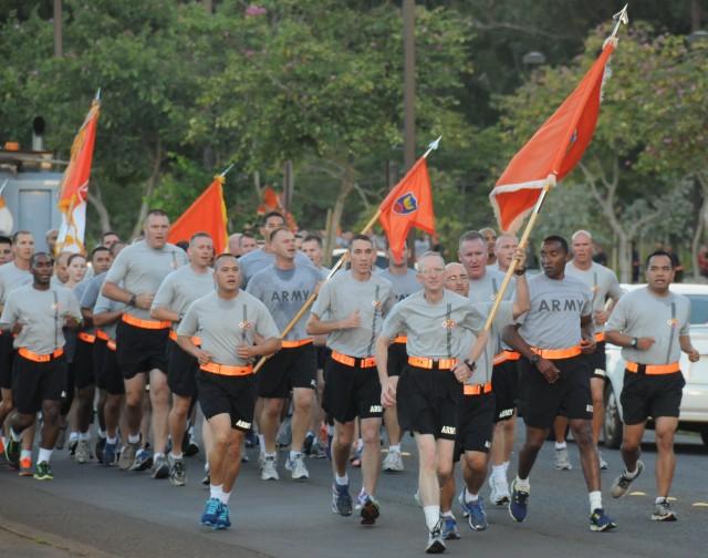 Regimental Run
