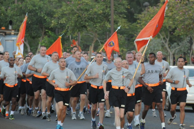 Regimental Run