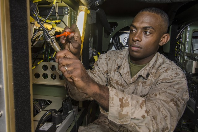 Marines use hands-on training to improve proficiency | Article ...