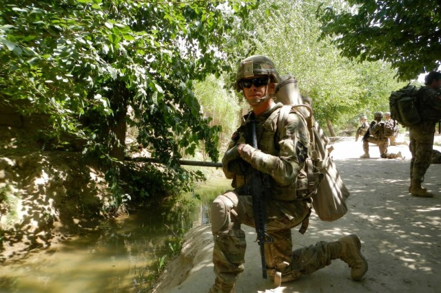 I Corps 1st Sergeant of the Year talks about what it means to be 'more professional than I'