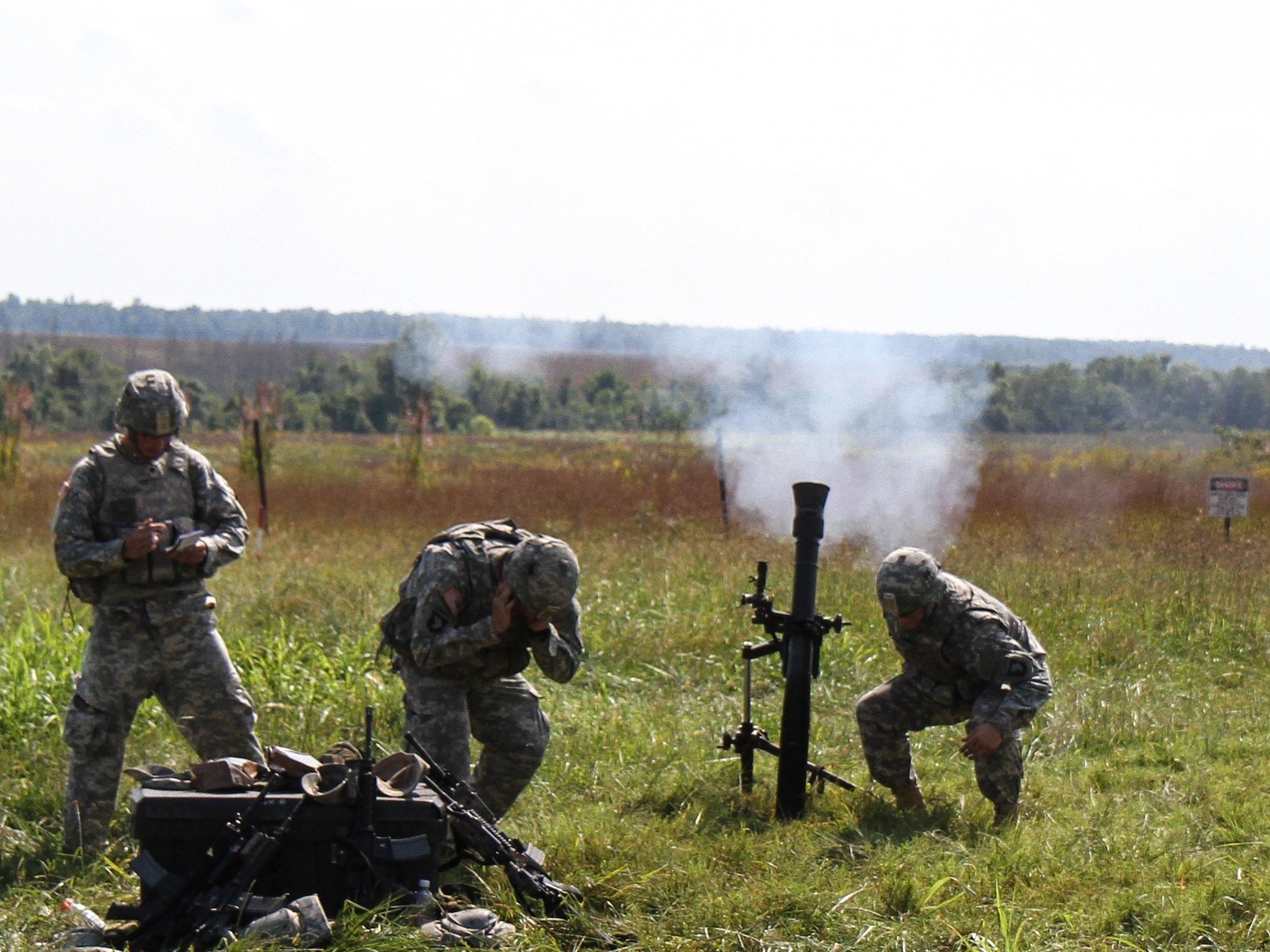 Mortar In Field : Mortar s fire in the field exercise for excellence