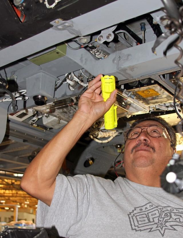 Black Hawk inspection