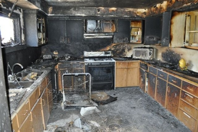 """This year's National Fire Prevention Week is Oct. 6 through 12. The theme for this year is """"Prevent kitchen fires."""" Keep things that can catch fire """" like oven mitts, wooden utensils, food product wrappers or boxes and paper towels """" away from your stove top."""
