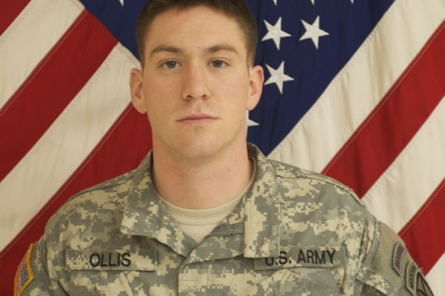 Staff Sgt. Michael H. Ollis previously deployed to Iraq, from April 2008 to May 2009, and to Afghanistan, from June 2010 to May 2011. Ollis deployed with his unit to Afghanistan in support of Operation Enduring Freedom in January 2013, and was killed Aug. 28, 2013, defending Forward Operating Base Ghazni.
