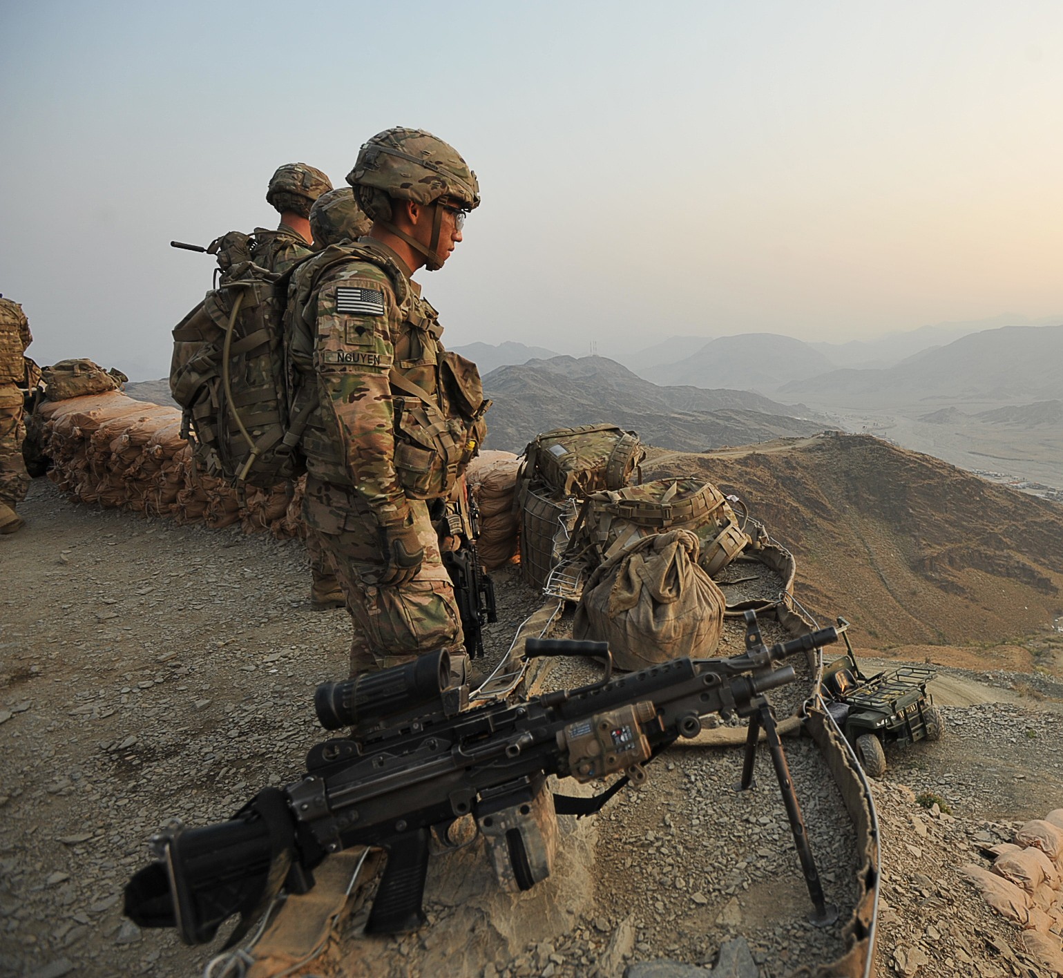 A Night On The Mountaintop In Afghanistan Article The