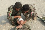 201st Afghan National Army medics get refresher