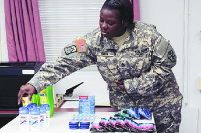 Soldier uses couponing to aid sexual assuault victims