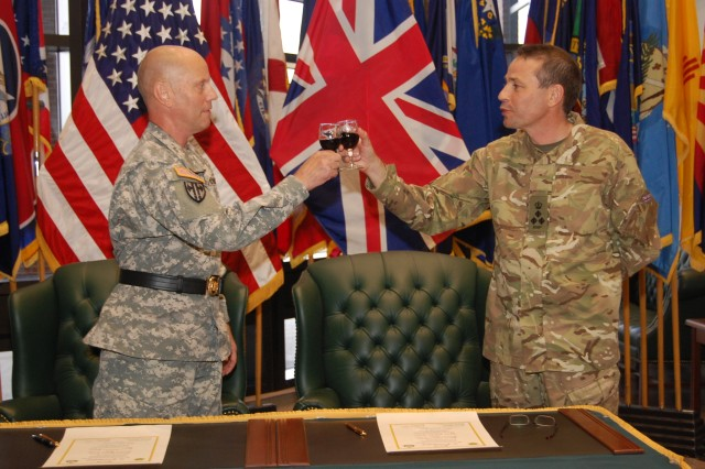 U.S., British military police celebrate Bond of Friendship ...