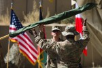 1st Brigade Combat Team cases colors ahead of return to Fort Drum