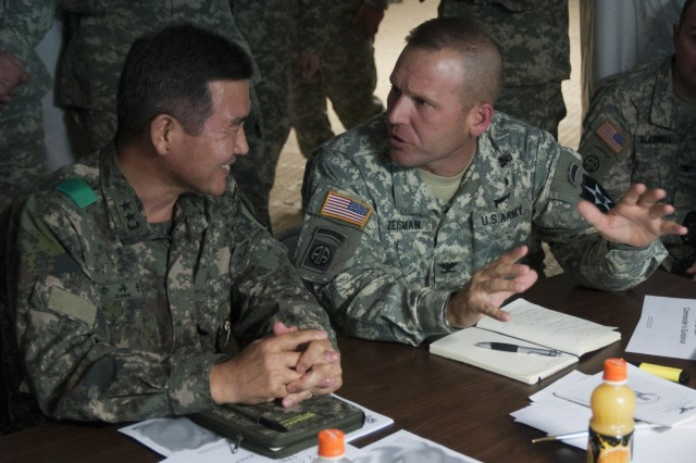 2-2 SBCT participates in historic joint exercise