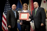 Congresswoman Giffords recognized for service to Soldiers