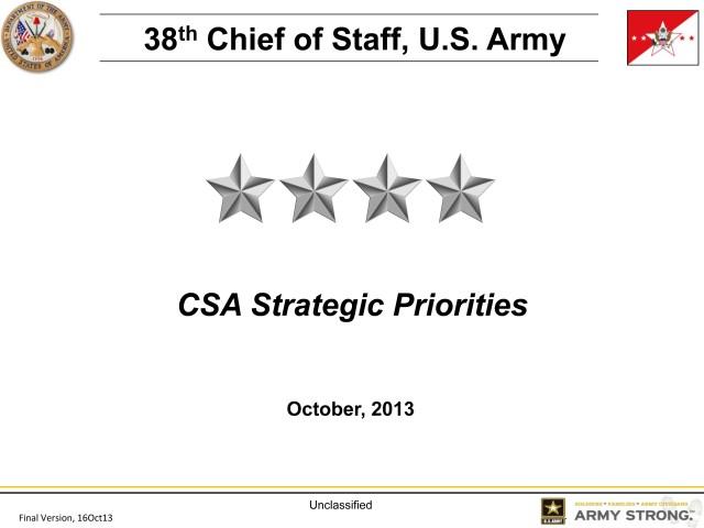 CSA Strategic Priorities cover