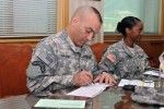 2ID senior enlisted supports 2013 Combined Federal Campaign