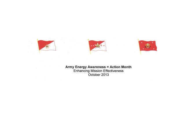 Army Energy Awareness = Action Month