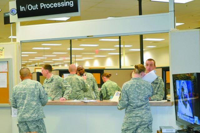 "Service members started filling in for civilian employees at Waller Hall soon after the government shutdown began Oct. 1. ""It's been fantastic. They've eased a burden,"" said William Marczak, lead human resources assistant for transitions."
