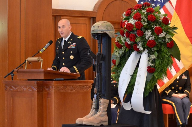 Soldiers remember fallen CID special agent