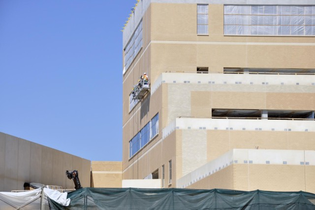 A change to the skyline is on the horizon with the new Carl R. Darnall Army Medical Center