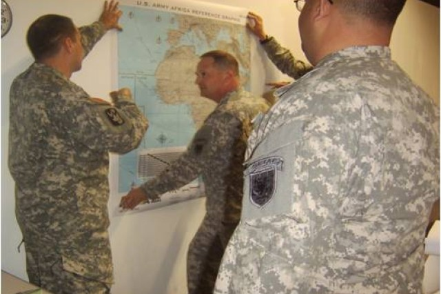 USARAF's Contingency Command Post answers call