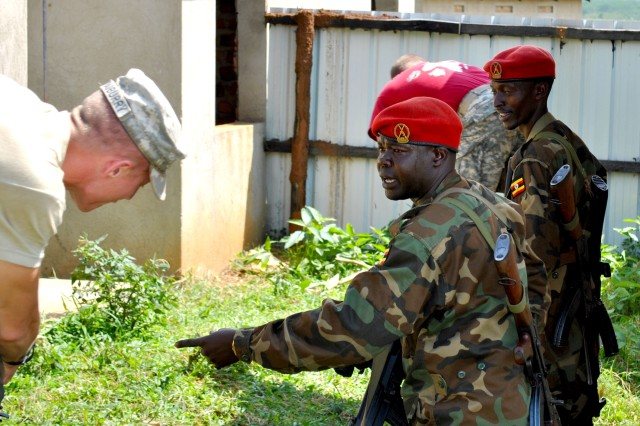 A recent U.S. Army Africa organized training event helped prepare a Uganda Peoples' Defense Force military police company for an upcoming deployment to Somalia.