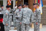 Sword passes to new division command sergeant major