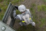 Stryker brigade infantrymen train to manage stress while engaging enemy [2 of 5]