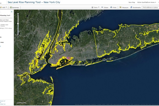 Over the past year, the U.S. Army Corps of Engineers partnered with the National Oceanic and Atmospheric Administration and other agencies to produce maps which show the greatest risk for storm surge and damage. The maps will help local planners know where to rebuild and zone to mitigate future risk.