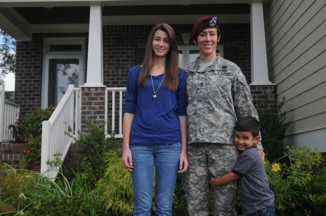 Master sergeant talks about resilience, strength, being Gold Star wife
