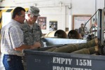 General praises ammunition plant safety record