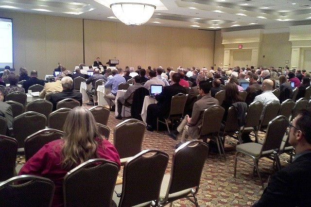 More than 200 household goods moving companies attended SDDC's DP3 forum along with leadership from International Association of Movers and American Moving and Storage Association.