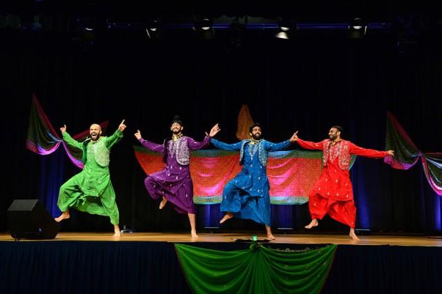 Bhangra dancers at 2013 Pentagon Diwali celebration