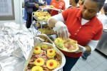 Making a difference: Feeding the homeless during annual outreach effort