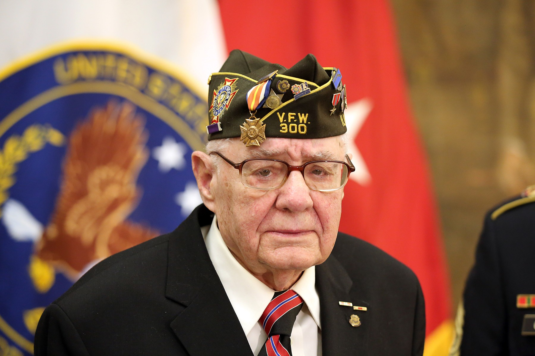 army reserve unit honors native chicagoan world war ii veteran 68