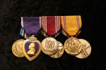 U.S. Army WWII Veteran receives medals 68 years after the war