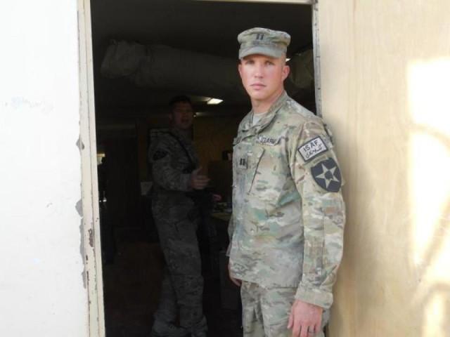 Klein in Afghanistan
