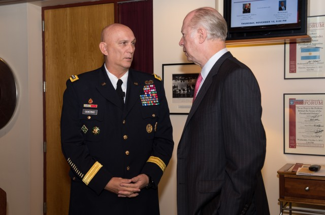 Army Chief of Staff Sits Down with David Gergen