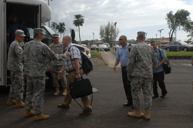 TSC logistics experts, movement team join typhoon relief efforts