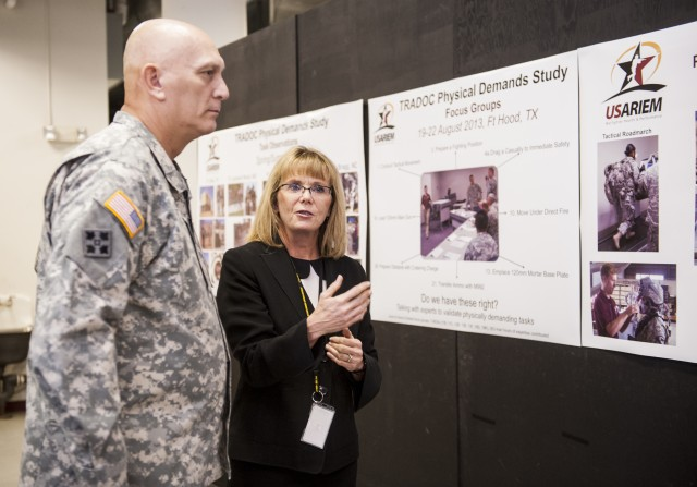 Army Chief of Staff Visits USARIEM