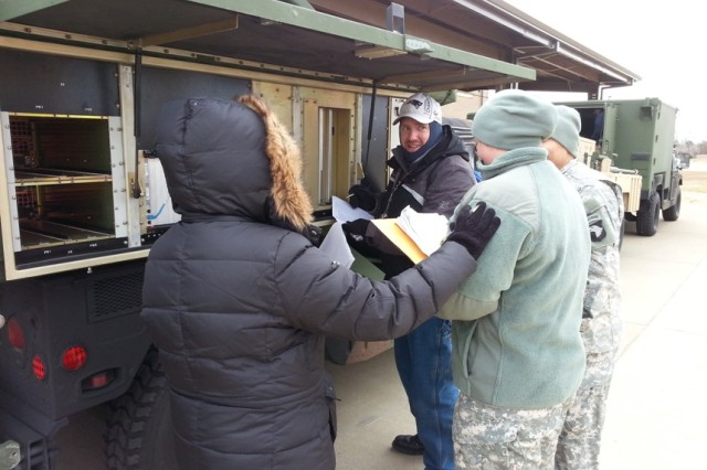 As part of the team's research, logisticians traveled to Fort Drum, Fort Bragg, Fort Hood, Fort Polk and Fort Irwin to identify root cause issues affecting field support and to learn more about the perspectives and needs of the Army Sustainment Command's Army Field Support Brigades and Brigade Combat Team personnel